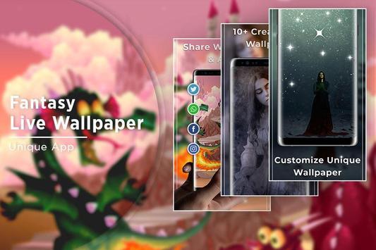 Fantasy Free live wallpaper screenshot 4