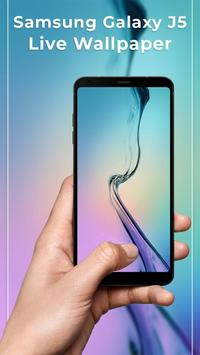 Galaxy J5 Free Live wallpapers poster