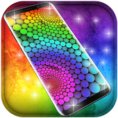 Rainbow Free live wallpaper icon