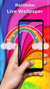 Rainbow Free live wallpaper poster