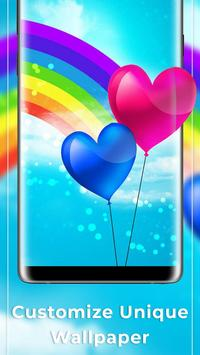 Rainbow Free live wallpaper apk screenshot