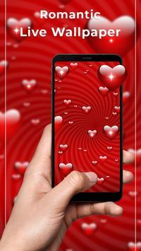Romantic Free live wallpaper poster