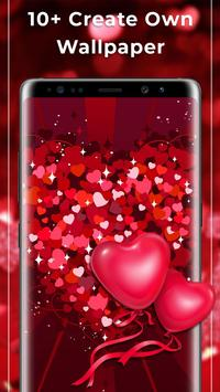 Romantic Free live wallpaper screenshot 1