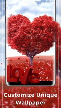 Romantic Free live wallpaper screenshot 2