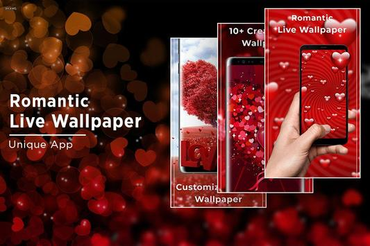 Romantic Free live wallpaper screenshot 4