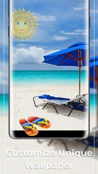 Sunny Beach Free live wallpaper screenshot 2