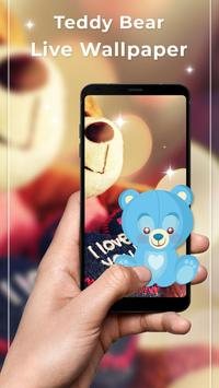 Teddy Bear Free Live Wallpaper poster
