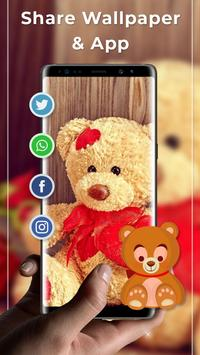 Teddy Bear Free Live Wallpaper screenshot 3