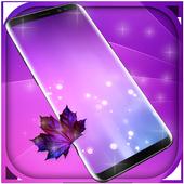 Purple Free live wallpaper icon