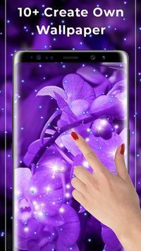 Purple Free live wallpaper screenshot 1