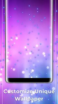 Purple Free live wallpaper screenshot 2