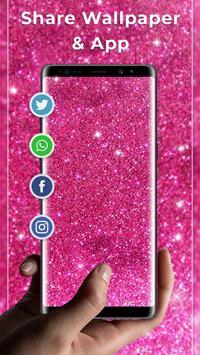 Pink glitter Free live wallpaper screenshot 3