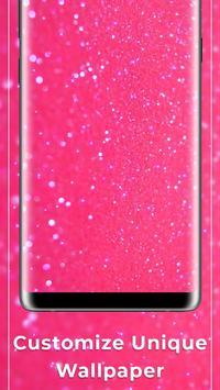 Pink glitter Free live wallpaper screenshot 2
