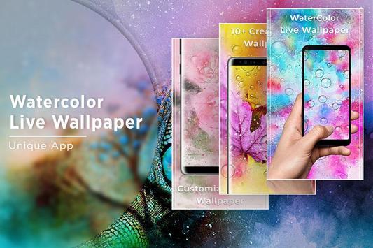 Watercolor Free Live Wallpaper screenshot 4