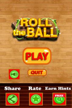 Roll Ball Go 2018 - Puzzle Game poster