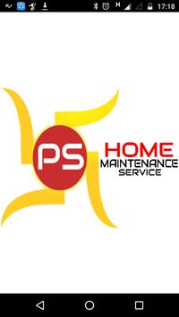 PS Home Maintenance Service poster