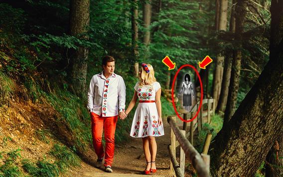 Horror Ghost in Photo apk screenshot