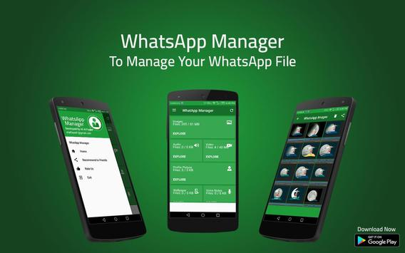 Manage for whatsapp poster