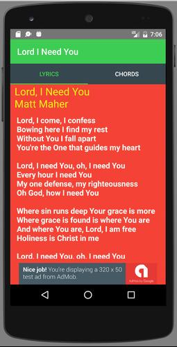 Lord, I Need You for Android - APK Download