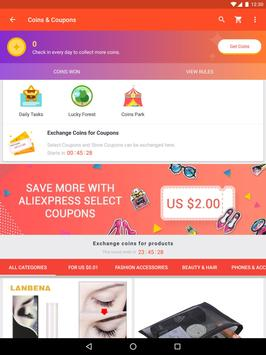 AliExpress - Smarter Shopping, Better Living apk تصوير الشاشة