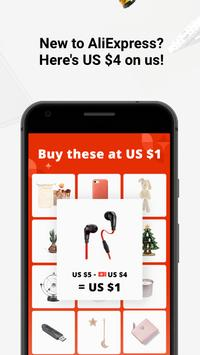 AliExpress Shopping App - Coupons For New User Cartaz