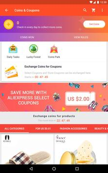 AliExpress - Smarter Shopping, Better Living apk स्क्रीनशॉट