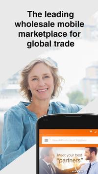Alibaba.com B2B Trade App poster