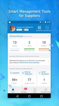 AliSuppliers Mobile App poster
