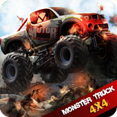 Monster Truck Offroad 2D icon