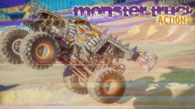 Monster Truck Offroad 2D poster