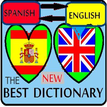 Spanish-English dictionary poster