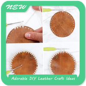 Adorable DIY Leather Craft Ideas icon