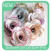 Awesome DIY Old Book Projects icon