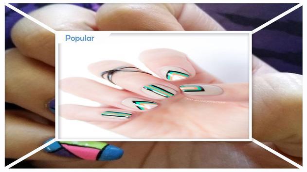 Beautiful Geometric Nail Art screenshot 3