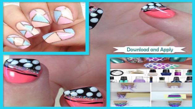 Beautiful Geometric Nail Art screenshot 2