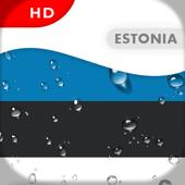 Estonia Flag 3D live wallpaper icon