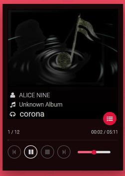 alice nine songs poster