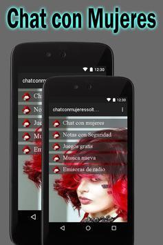 Chat  Con Mujeres Solteras En España  Y  Países screenshot 1
