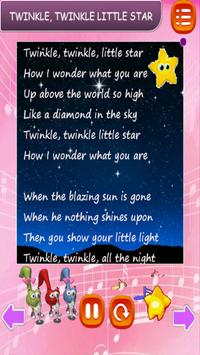 Popular Kids Song Free and Offine - English apk screenshot