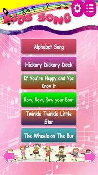 Popular Kids Song Free and Offine - English poster