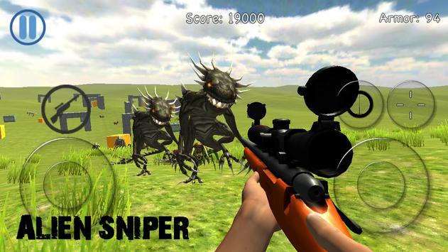Alien Sniper poster