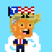 Alien Trump Hairpiece Invaders icon