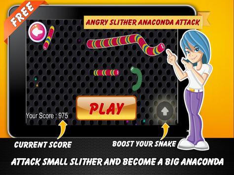 Angry Slither Anaconda Attack screenshot 3