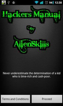 Hackers Manual Hack WiFi FB poster