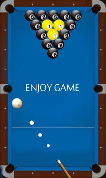 billiard shooter poster