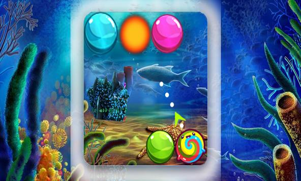 bubble beach shooter apk screenshot