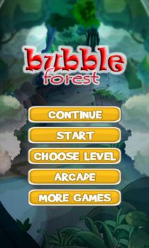 bubble forest poster