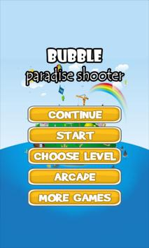 bubble paradise shooter apk screenshot