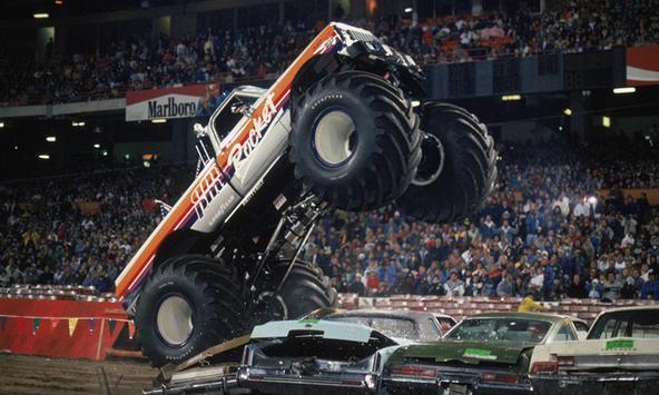 monster truck competition wallpaper apk screenshot