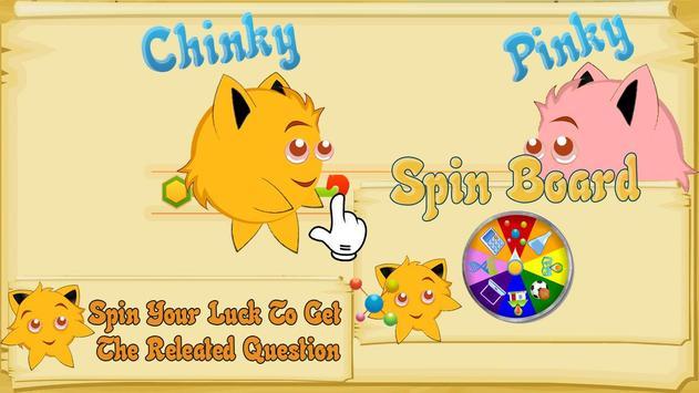 Chinky Pinky - Fun Learning screenshot 10